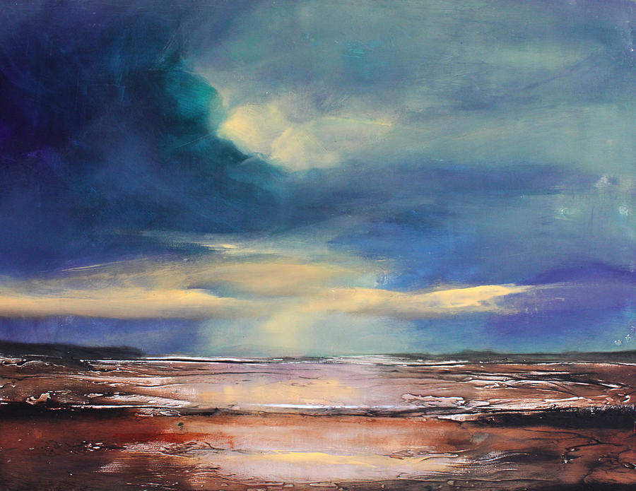 Landscape Painting - Angel Sky by Toni Grote