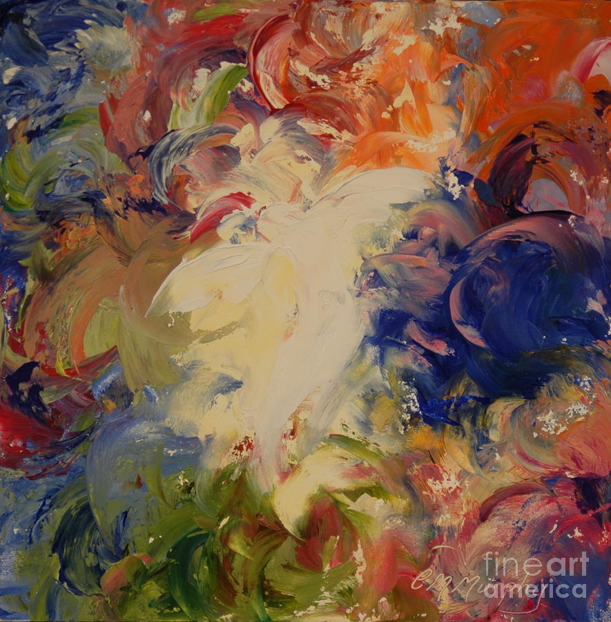 Angel Painting - Angel Visions 8 by Colleen Murphy
