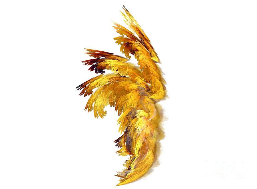 Apophysis Digital Art - Angel Wings by Kim Sy Ok