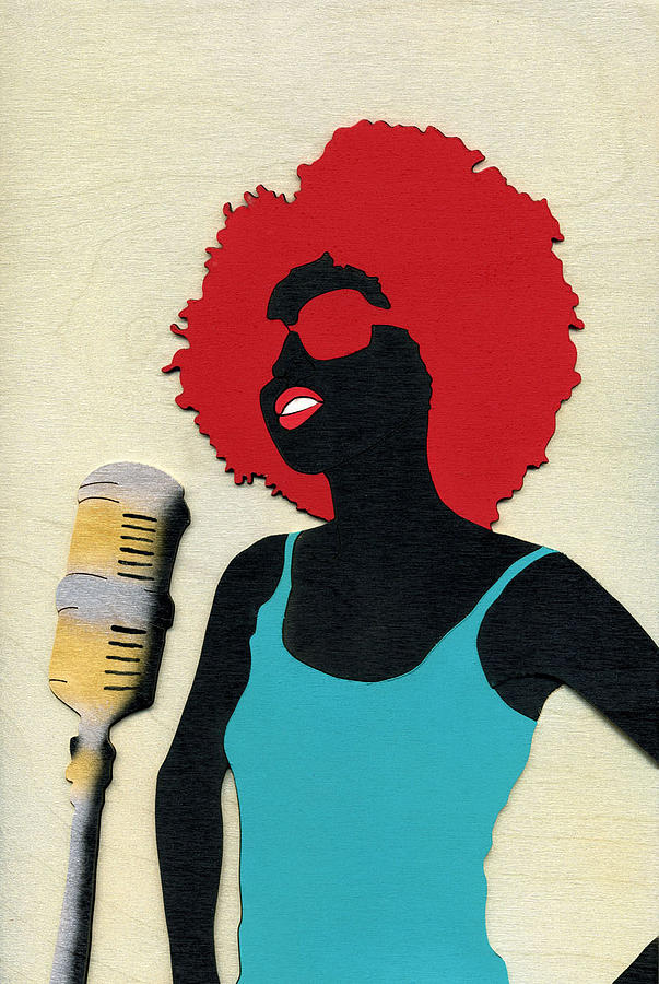 Angela Sings by Fred Gardner