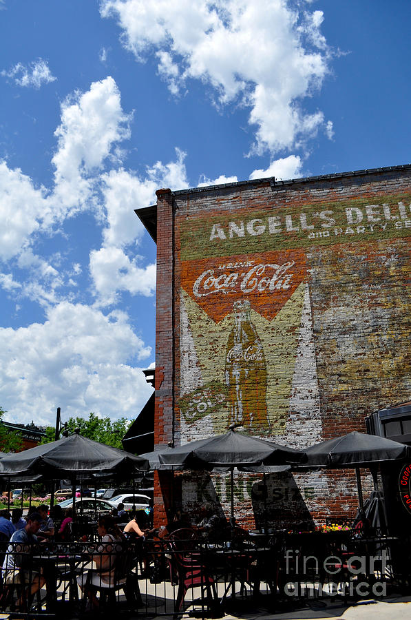 Fort Collins Photograph - Angells Deli by Anjanette Douglas