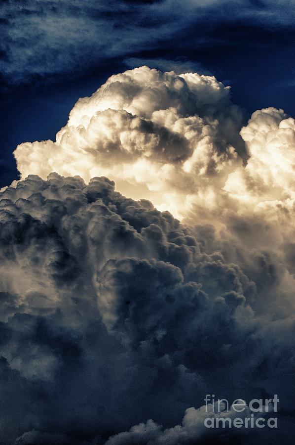 Clouds Photograph - Angels And Demons by Syed Aqueel