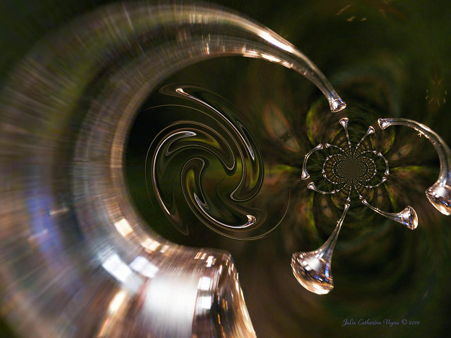 Angels Digital Art - Angels Trumpets by J C Edwards