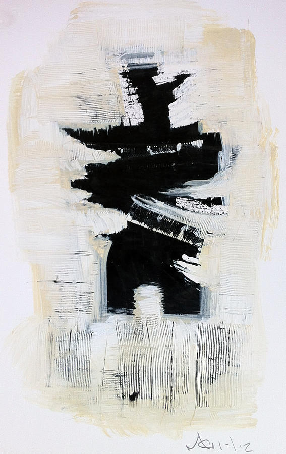 Abstract Painting - Anger Number Six by Mark M  Mellon