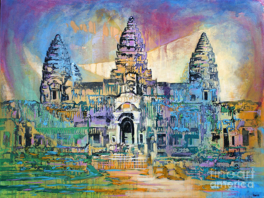 Angkor Wat Canvas Painting