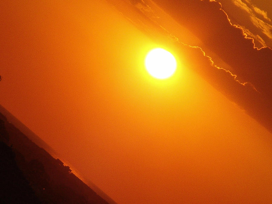 Angled Sunset Photograph