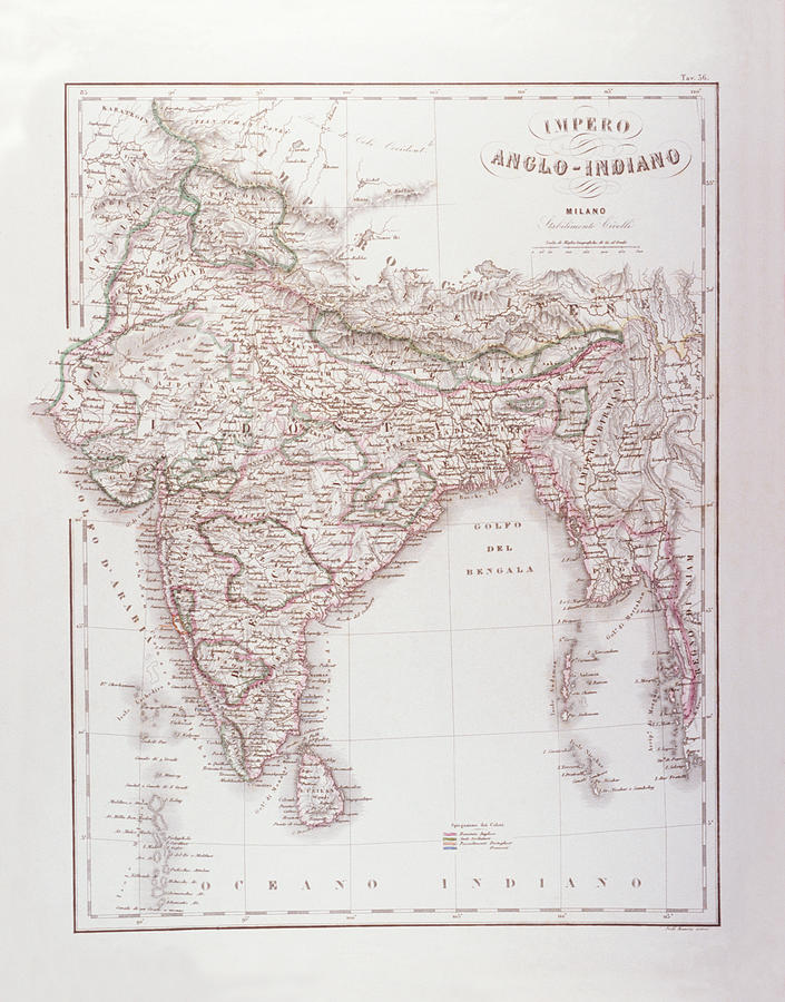 Vertical Digital Art - Anglo-indian Empire by Fototeca Storica Nazionale