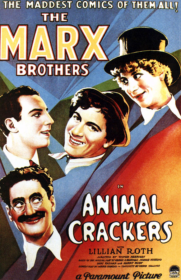 1930 Movies Photograph - Animal Crackers, From Bottom Left by Everett