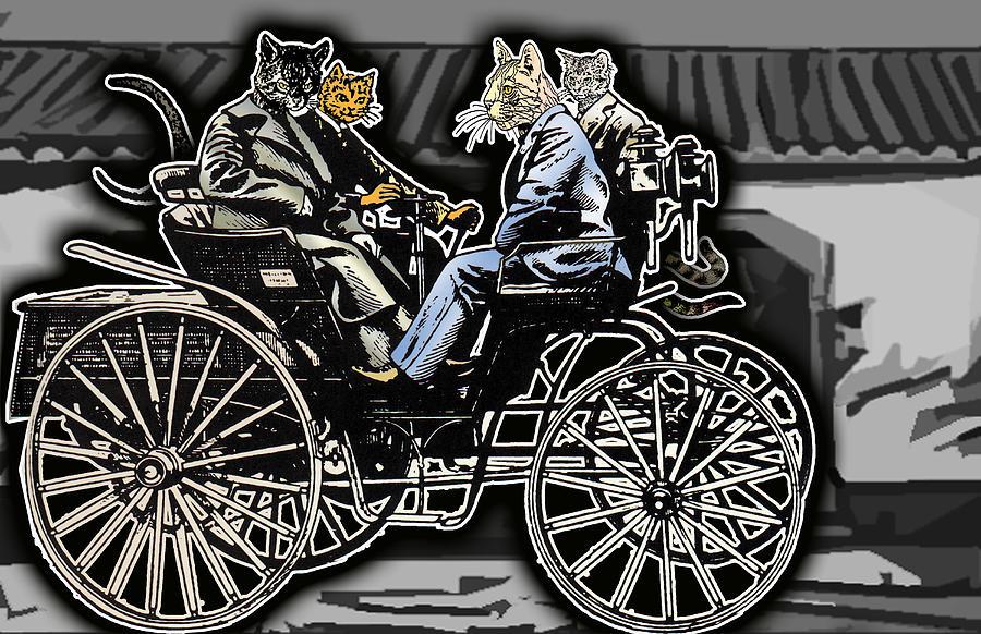 Animal Digital Art - Animal Family 4 by Travis Burns
