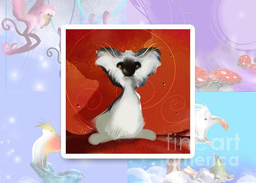 Koala Digital Art - Animalkingdom 04 by Elfriede De Rooster
