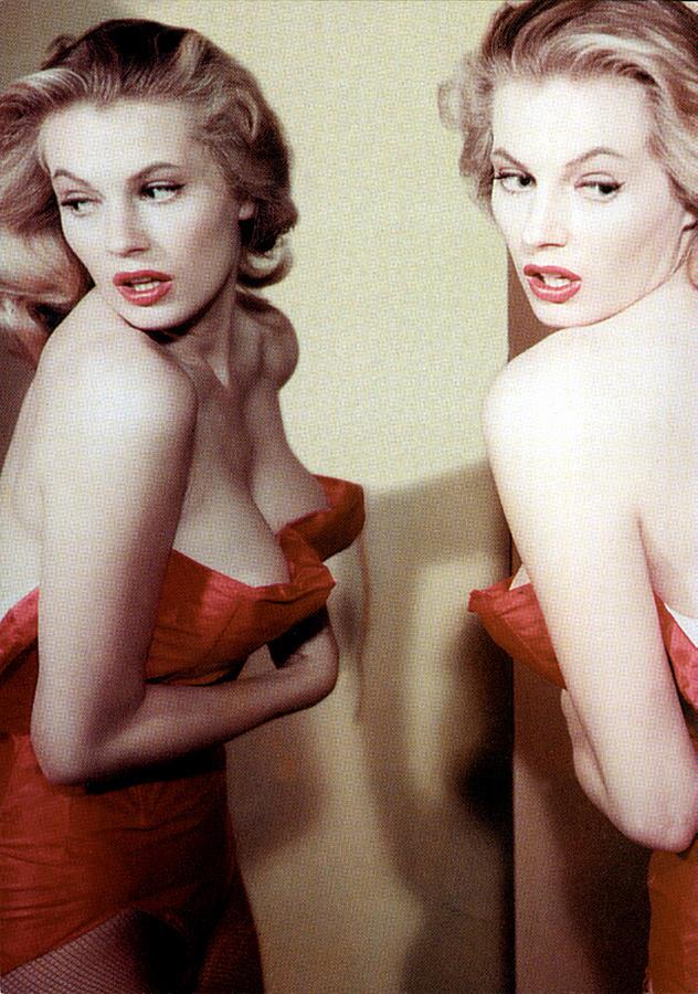 1950s Portraits Photograph - Anita Ekberg, Circa Late. 1950s by Everett