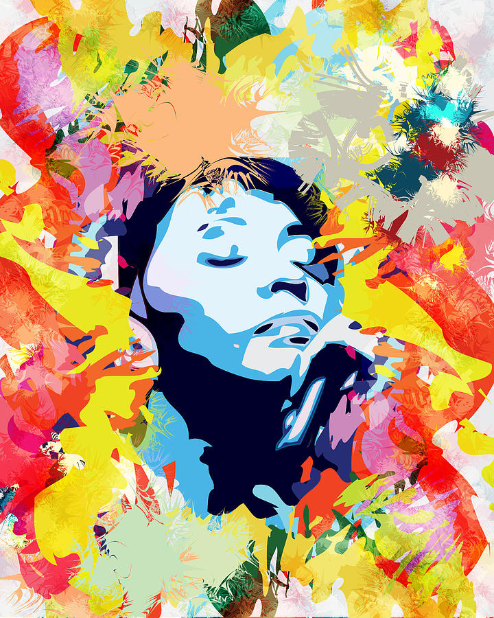 Anita Baker Digital Art - Anita by Saheed Fawehinmi