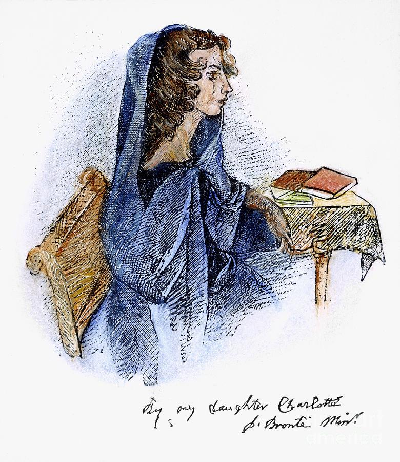 19th Century Photograph - Ann Bronte (1820-1849) by Granger