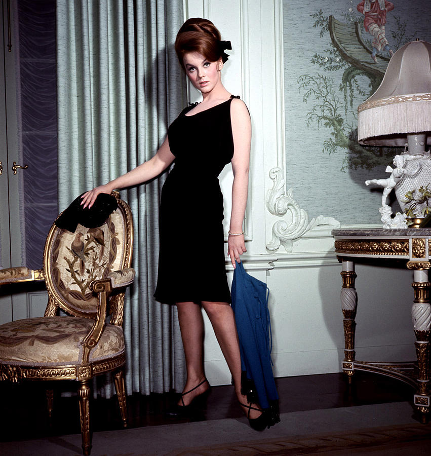1960s Fashion Photograph - Ann-margret, In French Drawing Room by Everett
