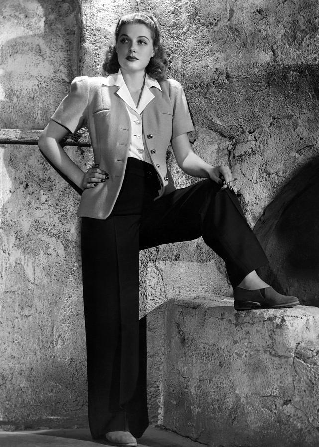11x14lg Photograph - Ann Sheridan, Warner Brothers Portrait by Everett