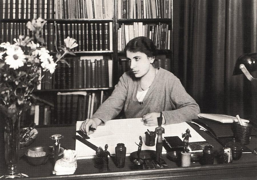 History Photograph - Anna Freud 1895-1982, Youngest Daughter by Everett
