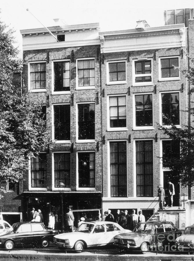 Anne Frank House Photograph by Granger