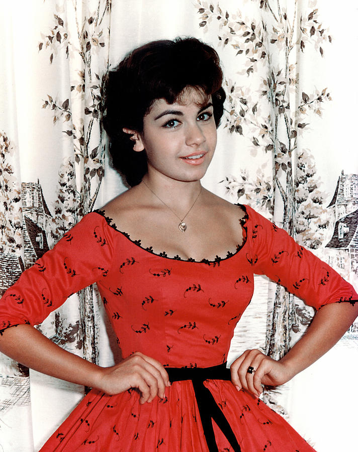 1950s Fashion Photograph - Annette Funicello, 1950s by Everett