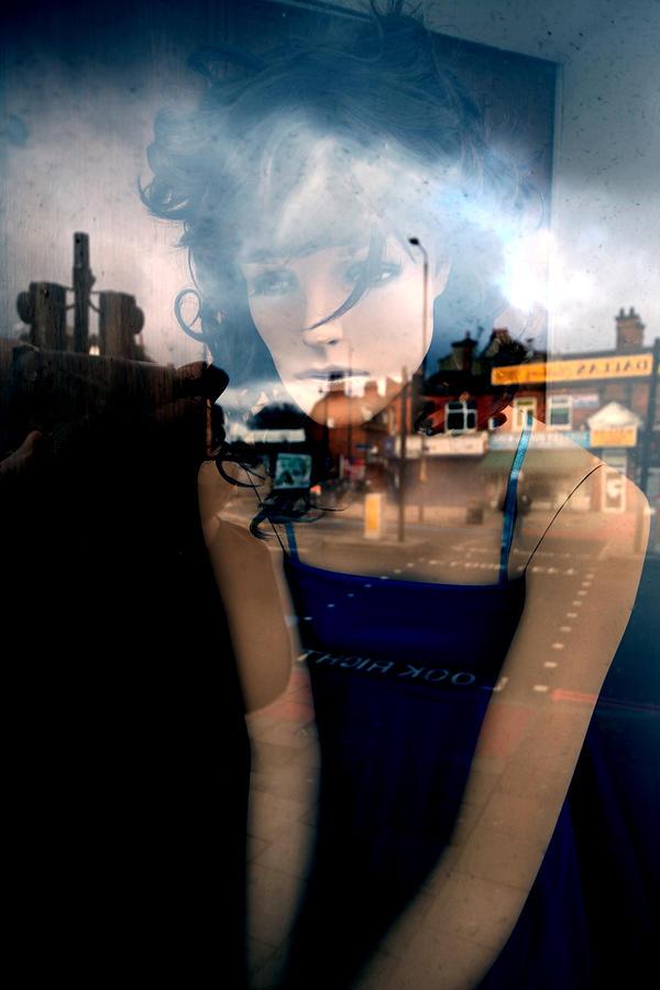 Jezcself Photograph - Annette by Jez C Self