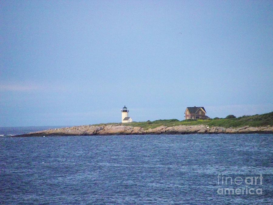 Cape Ann Photograph - Annisquam Harbor Lighthouse by Michelle Welles