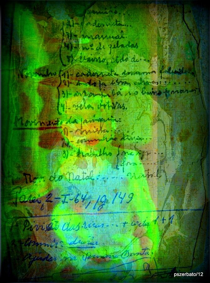 Notes Digital Art - Annotations For A Life by Paulo Zerbato