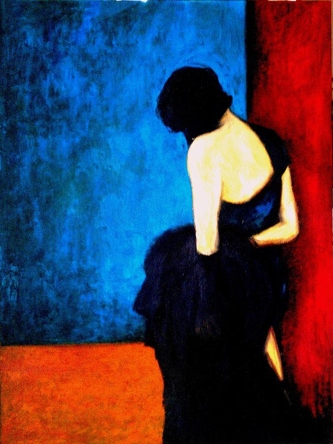 Abstract Painting - Anonymous by Irine Shotadze