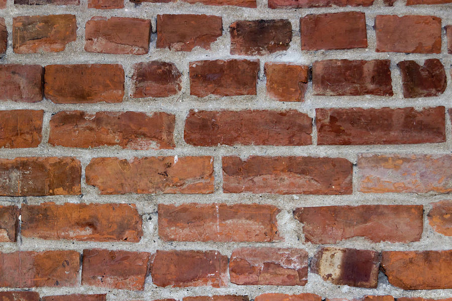 Brick Photograph - Another Brick In The Wall by Heidi Smith