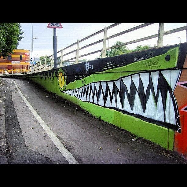 Grafite Photograph - Another Olds And Still Going Strong. By by Nigel Brown