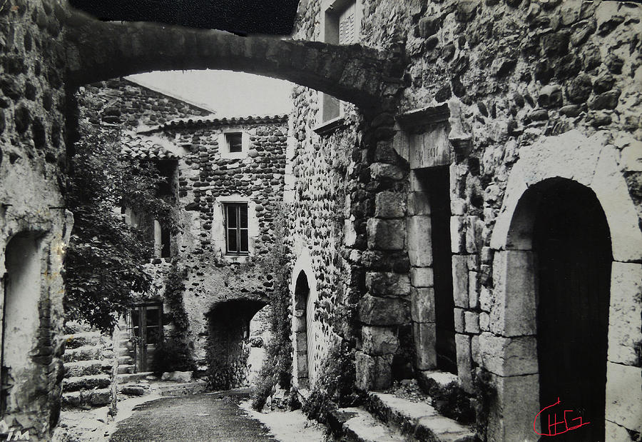 Colette Photograph - Another Residence In Childhood Alba France Ardeche by Colette V Hera  Guggenheim