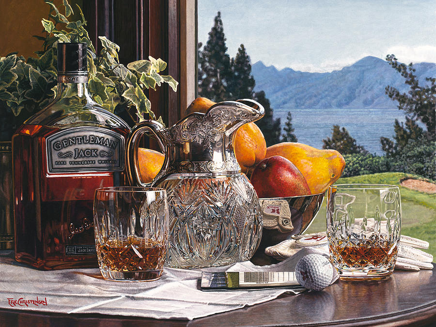 Still Life Painting - Another Round by Eric Christensen