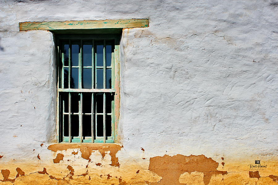 Window Photograph - Another Time by Russ Harris