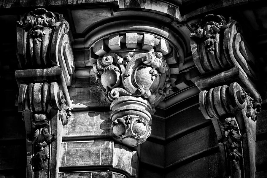 Us Photograph - Ansonia Building Detail 12 by Val Black Russian Tourchin