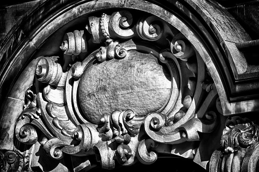 Us Photograph - Ansonia Building Detail 13 by Val Black Russian Tourchin