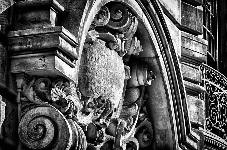 Us Photograph - Ansonia Building Detail 19 by Val Black Russian Tourchin
