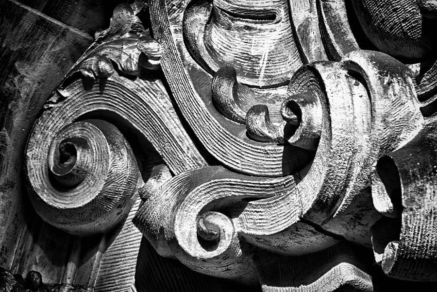 Us Photograph - Ansonia Building Detail 23 by Val Black Russian Tourchin