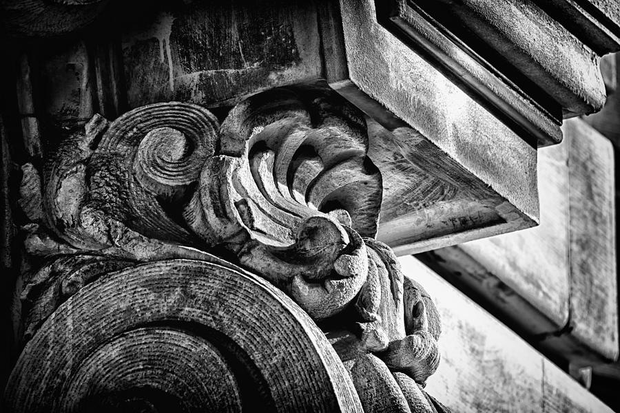 Us Photograph - Ansonia Building Detail 24 by Val Black Russian Tourchin