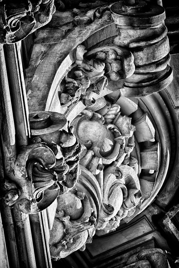 Us Photograph - Ansonia Building Detail 26 by Val Black Russian Tourchin