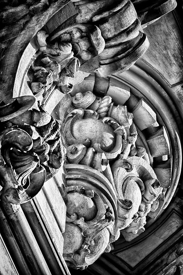 Us Photograph - Ansonia Building Detail 28 by Val Black Russian Tourchin