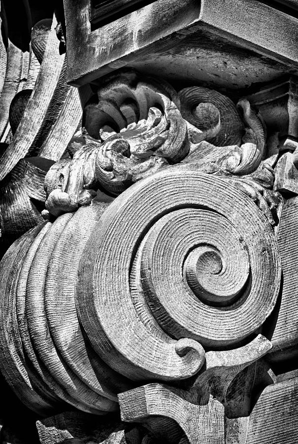 Us Photograph - Ansonia Building Detail 29 by Val Black Russian Tourchin