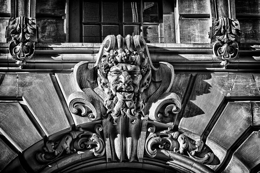 Us Photograph - Ansonia Building Detail 3 by Val Black Russian Tourchin