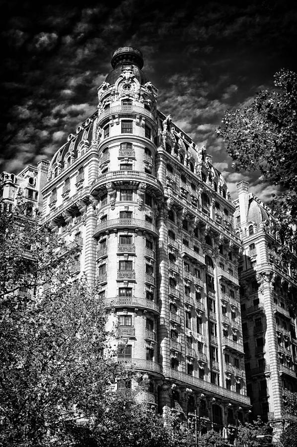Us Photograph - Ansonia Building Detail 32 by Val Black Russian Tourchin