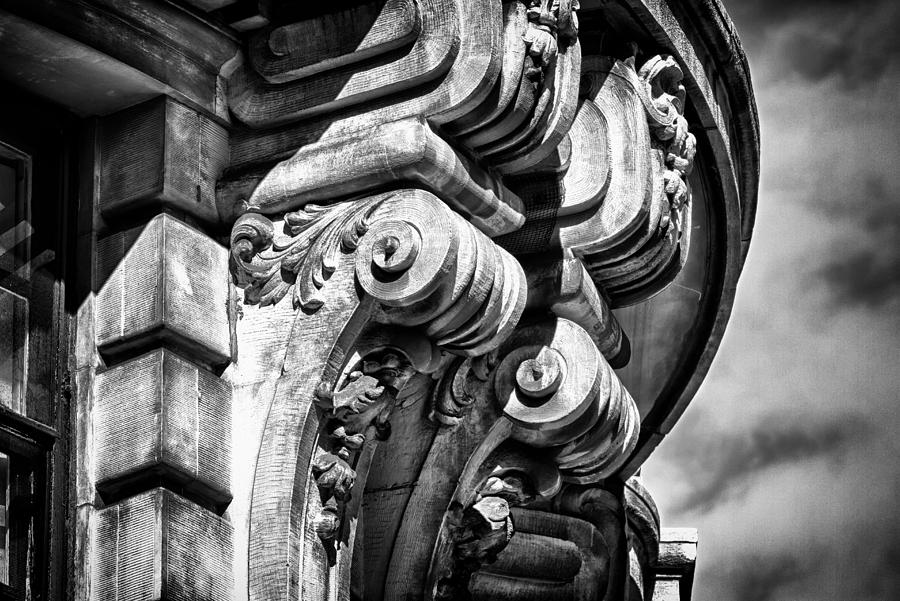 Us Photograph - Ansonia Building Detail 38 by Val Black Russian Tourchin