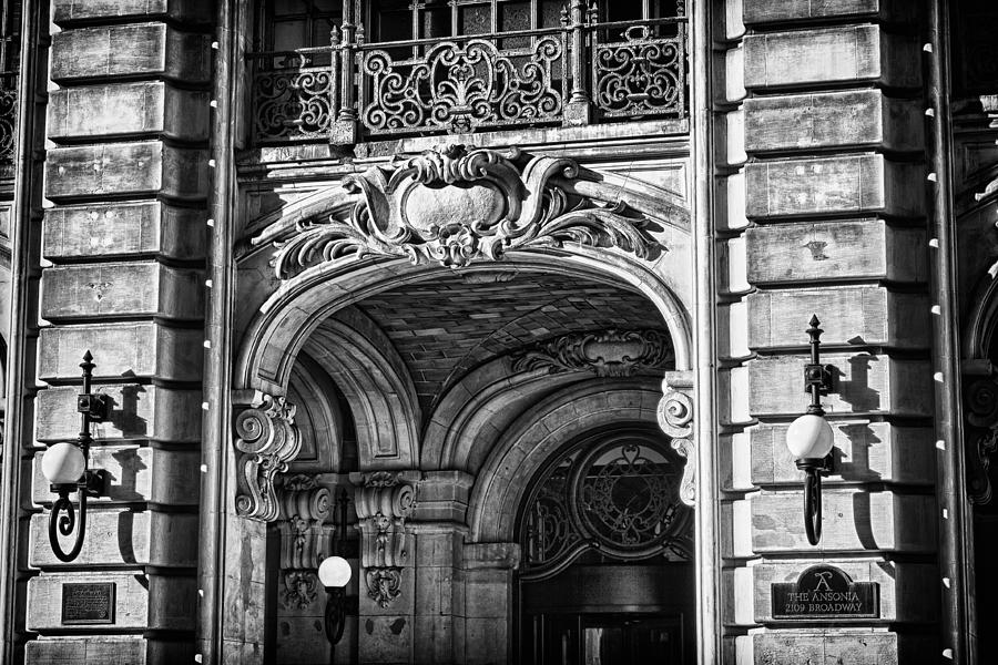 Us Photograph - Ansonia Building Detail 4 by Val Black Russian Tourchin