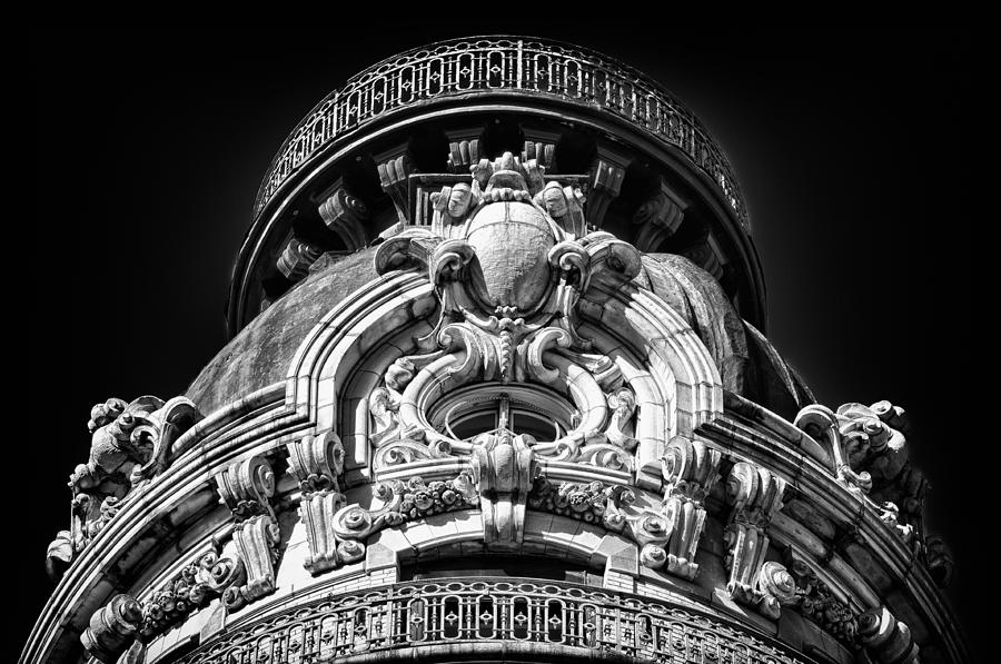 Us Photograph - Ansonia Building Detail 47 by Val Black Russian Tourchin