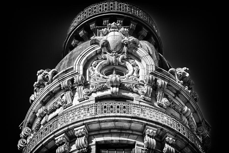 Us Photograph - Ansonia Building Detail 48 by Val Black Russian Tourchin