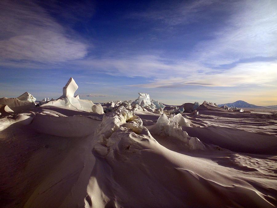 Antarctic Landscape Photograph - Antarctic Landscape 152 by David Barringhaus