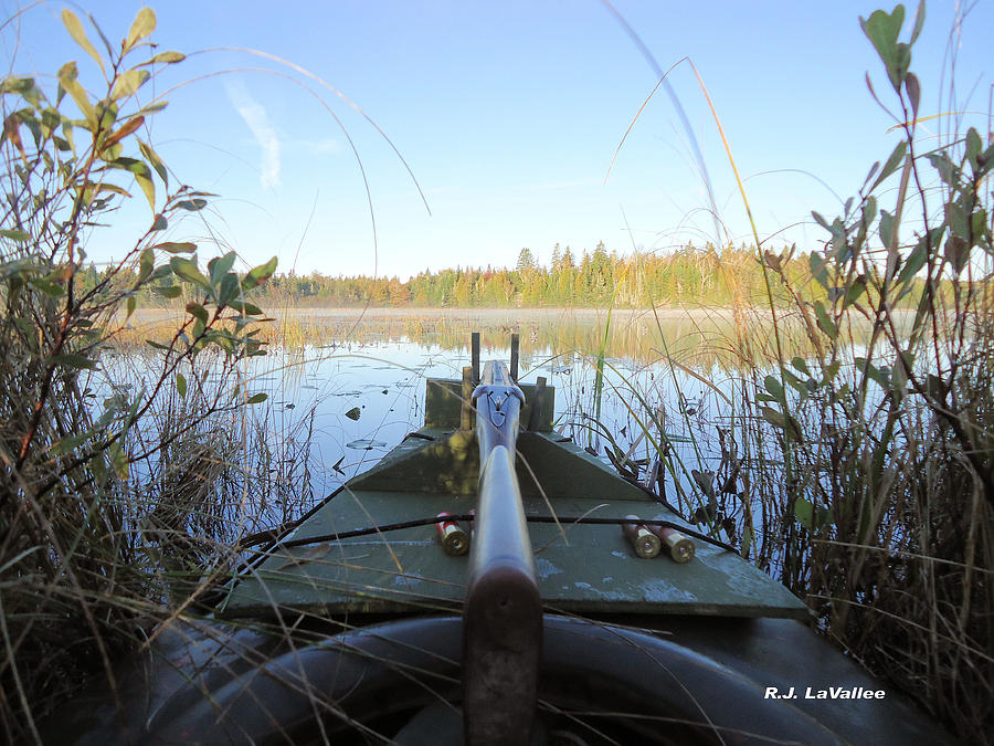 Duck Hunting Photograph - Anticipation  by Roland LaVallee
