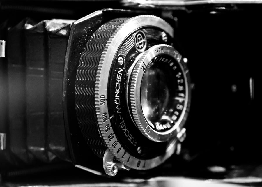 Camera Photograph - Antique Camera by Edward Myers