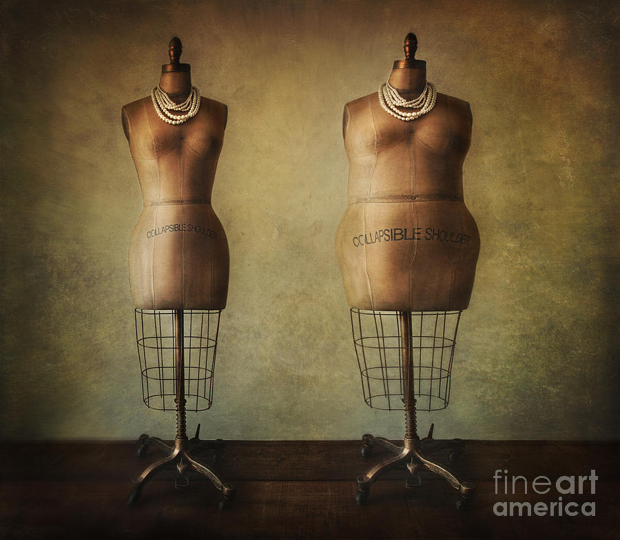 Antique Dress Forms Before And After Photograph by Sandra Cunningham