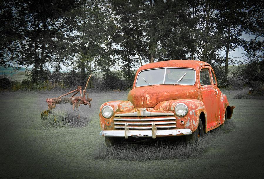 Antique Ford Car 7 Photograph